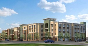 Under development by Eden Housing, the Dublin Family Apartments will feature 66 affordable