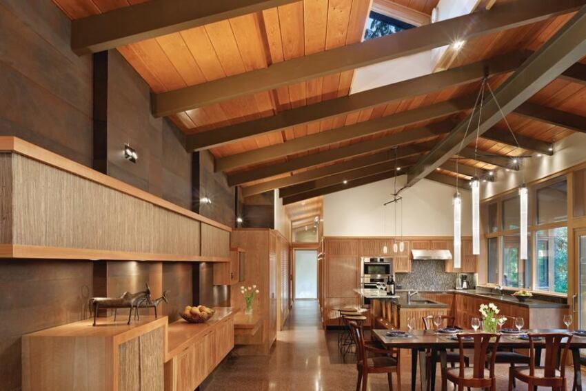 Lake Forest Park Renovation Kitchen by Finne Architects