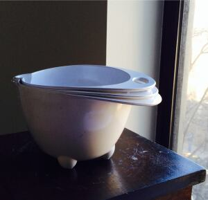 Graves-designed mixing bowls