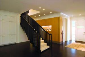 It took three months to construct the stairway, as its irregular bends required individual templates for each step.