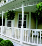 Expanding color and style options have enhanced the appeal of vinyl railings.