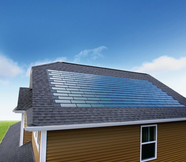 PVs on roof projects