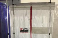 Hands-Free ZipWall Door