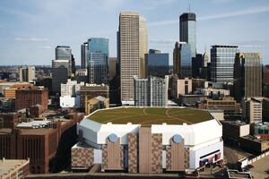 Target Center Adds Fifth Largest Green Roof in the Country