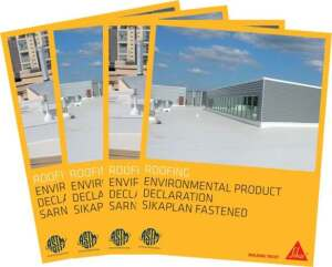 Four roofing membranes manufactured by Sika now have published Environmental Product Declarations.