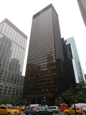 Mies van der Rohe's Seagram Building was the subject of a Boolean formulation in a 1972 paper from the University of Cambridge.