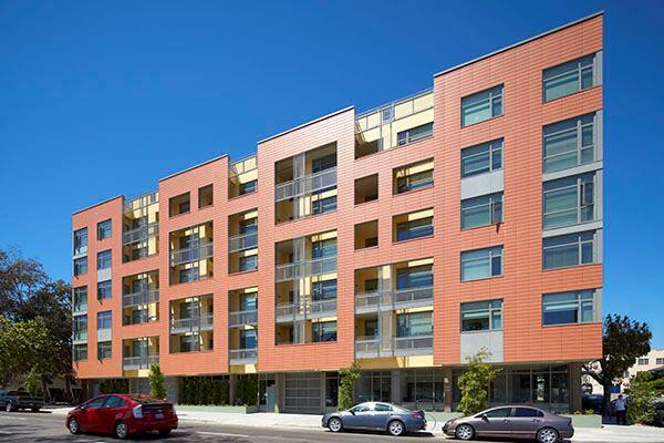 Merritt Crossing Housing, Oakland, California  Architect - Leddy Maytum Stacy