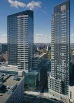 TOP OF THE TOWN: Demand has been high for the luxury condos at The Residences at the Ritz-Carlton.