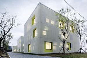 Youth Center of Qingpu, by Atelier Deshaus