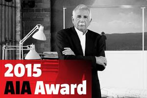 Moshe Safdie wins the 2015 AIA Gold Medal