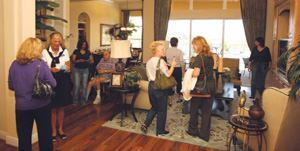 "TICKET TO RIDE: Using a ""passport"" and a map of the model complex, prospective  buyers at Verano's grand opening received a unique stamp at  each of the 14 homes, qualifying them for a giveaway while updating the community's  prospect list."