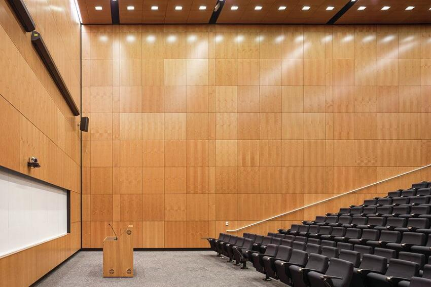 Lecture hall.