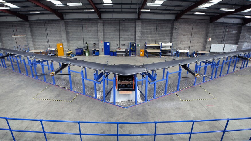 Facebook's Aquila drone will bring Internet connectivity to the world.