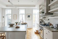 Modernized Kitchen Pays Homage to the Past