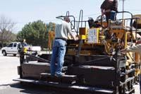 GOMACO Corp. RTP-500 rubber-tracked placer