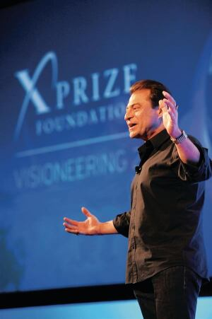 Creative Chaos Futurist Peter Diamandis challenged builders to entertain new ideas that would disrupt their businesses.