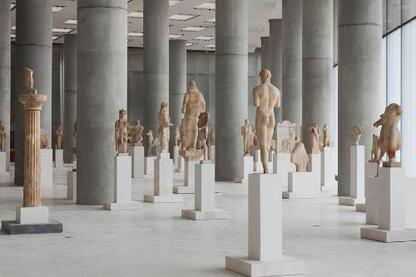 New Acropolis Museum   Location:  Athens, Greece   Architect:  Bernard Tschumi Architect