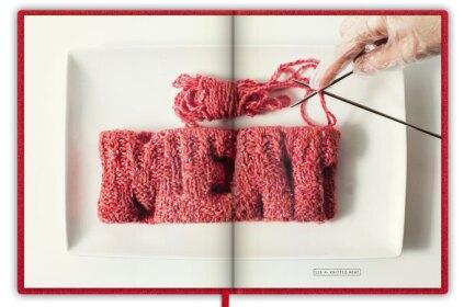 InsideThe In Vitro Meat Cookbook byKoert van Mensvoort.