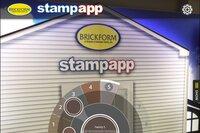 Brickform StampApp
