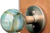 Sun Valley Bronze Glass Knobs