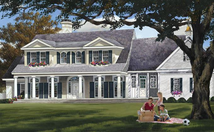 Four New Plans with Elegant Curb Appeal