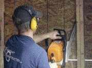 On the Job: Chain Saws for Framing