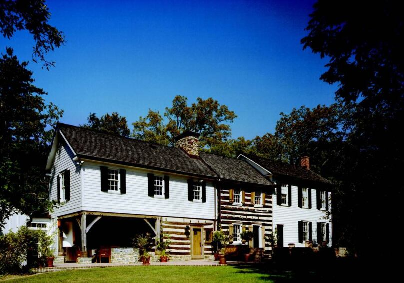 four stairs: addition and renovation to a historic virginia farmhouse, great falls, va.