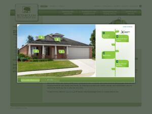 CONSUMER EDUCATION. Betenbough Homes' website will soon feature interactive customer engagement tools that allow visitors to learn details about the builder's energy efficient houses.