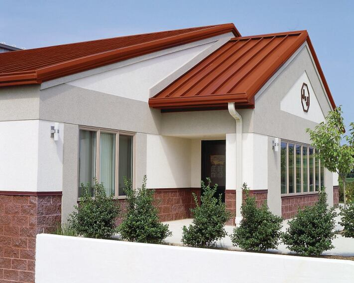 Standing Seam Roof Is Weather Resistant