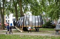 A Treehouse Workspace in a London Park