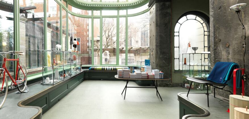 SHOP Cooper Hewitt, Smithsonian Design Museum, located in former conservancy.