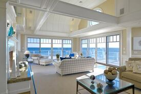 Oceanfront Home Addition Achieves Grand Effect