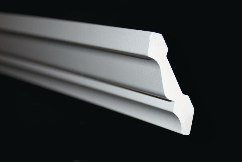 Azek Building Products 3-Inch Crown and 1 1/2-Inch Square Molding Profiles