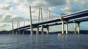 Massachusetts precaster Unistress Corp. won a $70 million contract to manufacture concrete deck panels for New York City's new Tappan Zee bridge, replacing a deteriorating structure built in 1955.