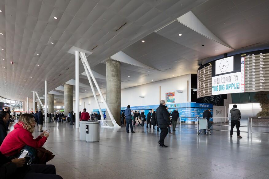 Interior of Terminal 4