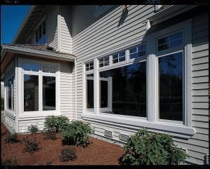 AMSCO. The company provides performance data for all of its window products online and offers a section to help educate consumers about high-performance windows including a glossary of window terminology. Demonstration kits for its dealer network show the difference between clear glass and the manufacturer's CozE high-performance glass. Pictured: Renaissance series composite windows. 888.822.6726.  www.amscowindows.com.