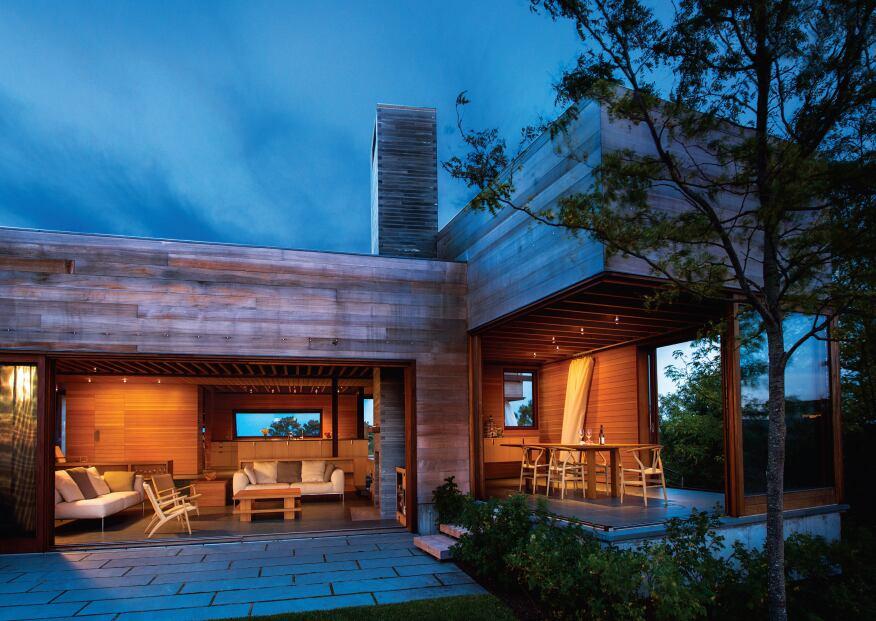Island Residence, Peter Rose + Partners, Edgartown, Mass.