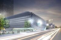 Topping Out Ceremony for Los Angeles Broad Museum