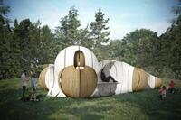 Torqueing Spheres by IK Studio Wins 2015 Folly Program