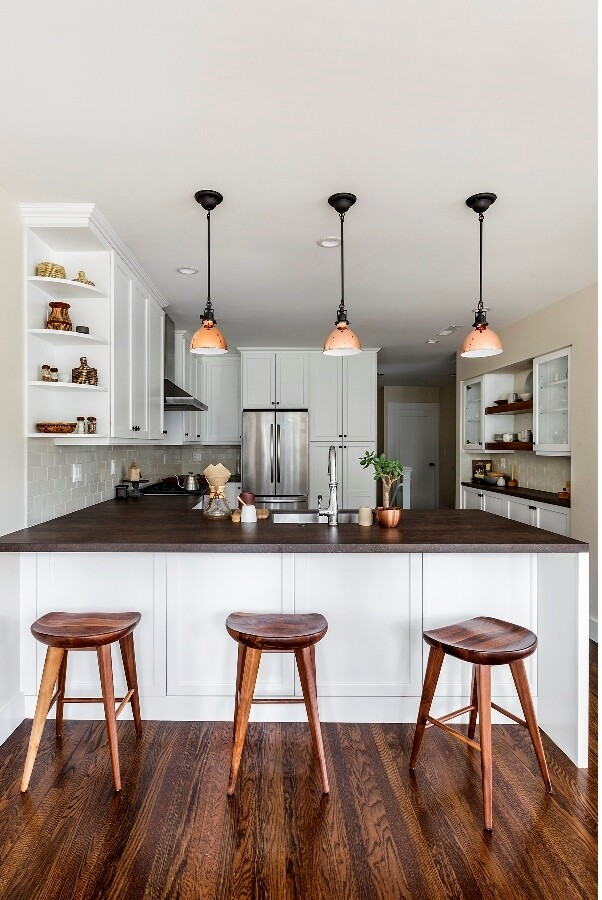 As the hub of the home and central entertaining space, homeowners want kitchens to shine, like this project by SF Design Build--and are willing to spend for it.