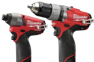 Milwaukee M12 FUEL Drill and Impact Drivers