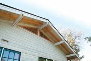 Dressing Up a Truss Roof