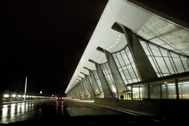 Dulles International Airport Terminal Building