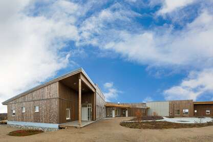 Eco-friendly retirement home in the Arctic Circle