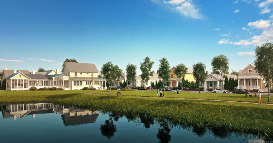 Phase one of Babcock Ranch is slated to open early next year.