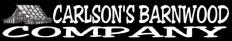 Carlson's Barnwood Co. Logo