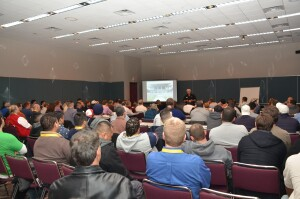 Class in session: The education program at The Pool & Spa Show,  powered by the Northeast Spa & Pool Association, offers technical  and business seminars, plus specialty and general sessions.