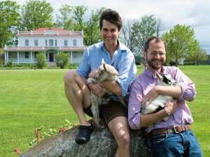 """Wildly popular with Millennials, the """"Beekman Boys,"""" as they are known from their TV show, cookbooks, and memoirs,have been called one of the fastest growing lifestyle brands in the country by NASDAQ."""