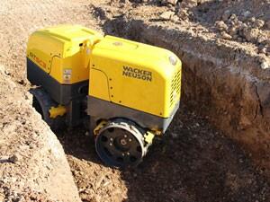 Wacker Neuson's RTxSC3 trench roller