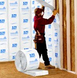 Among the building products on which homeowners can earn energy tax credits  are insulation such as ComfortTherm from Johns Manville.